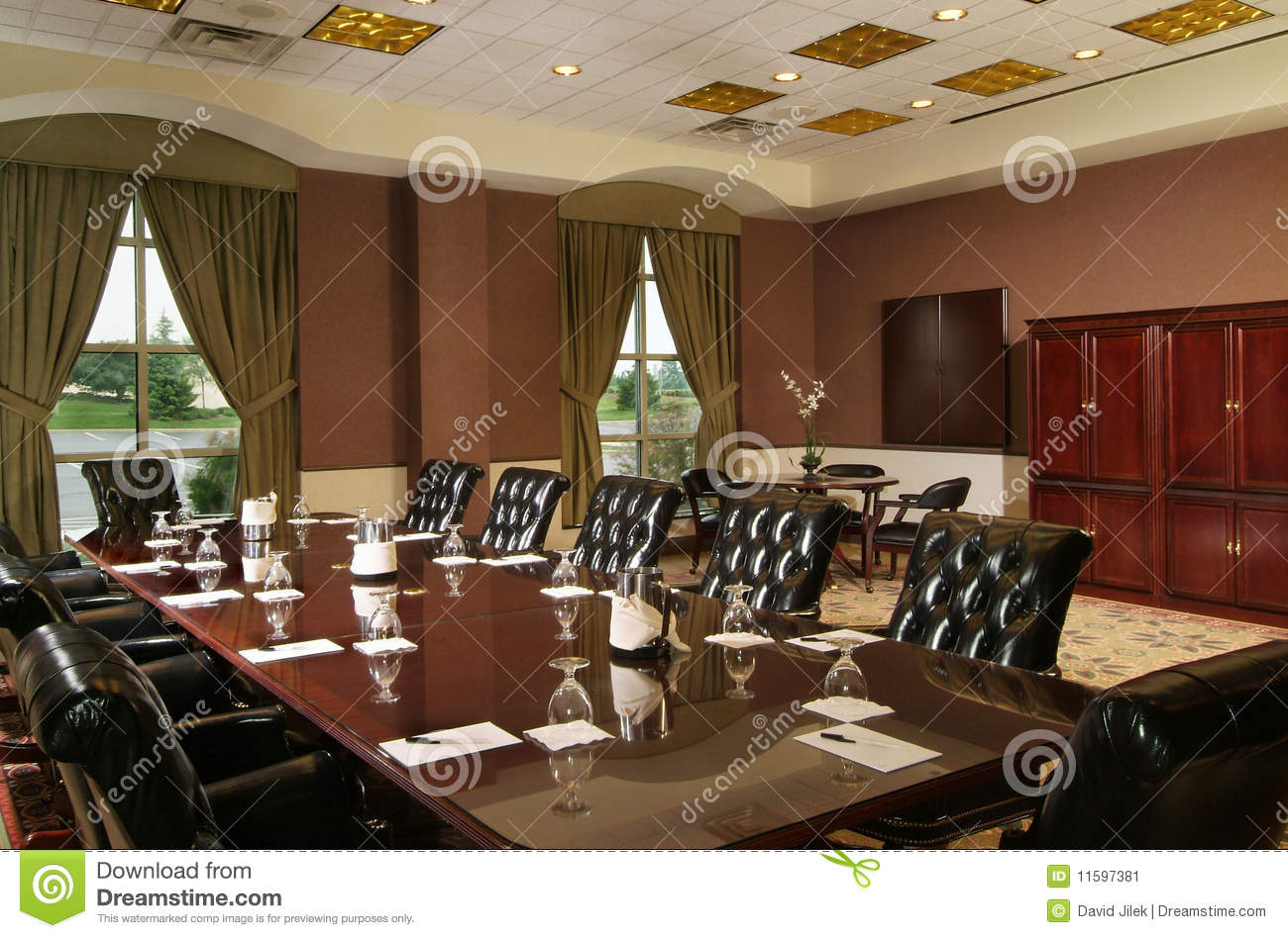 Luxury Conference Room Stock Image Image 11597381