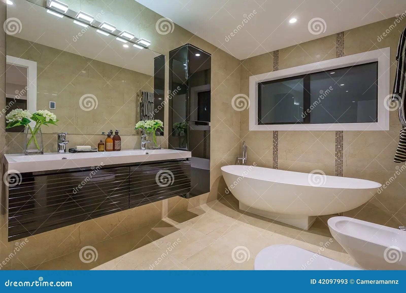 Luxury Home Washroom Stock Photo Image 42097993