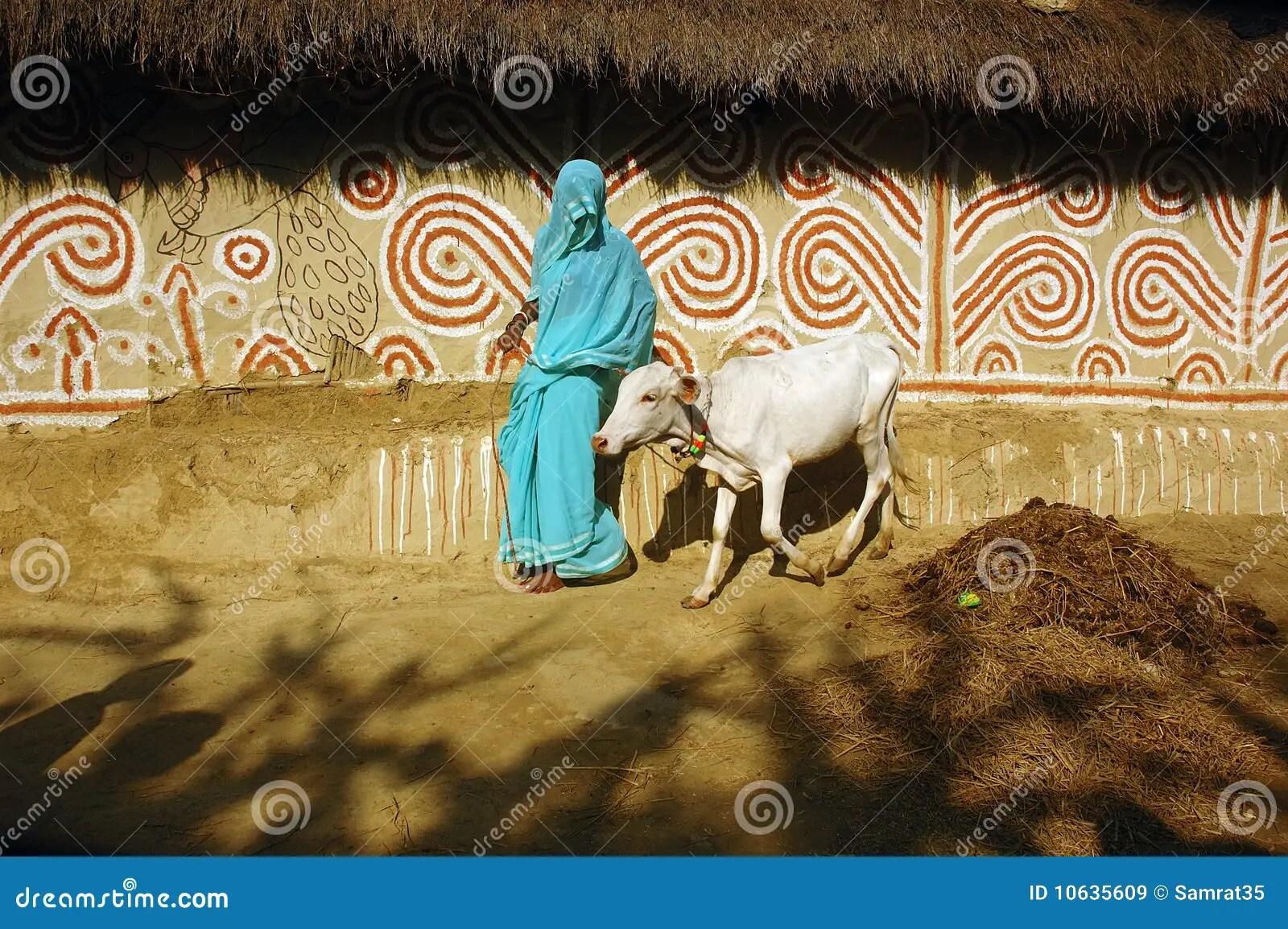 Madhubani Painting In Bihar India Editorial Stock Image Image 10635609