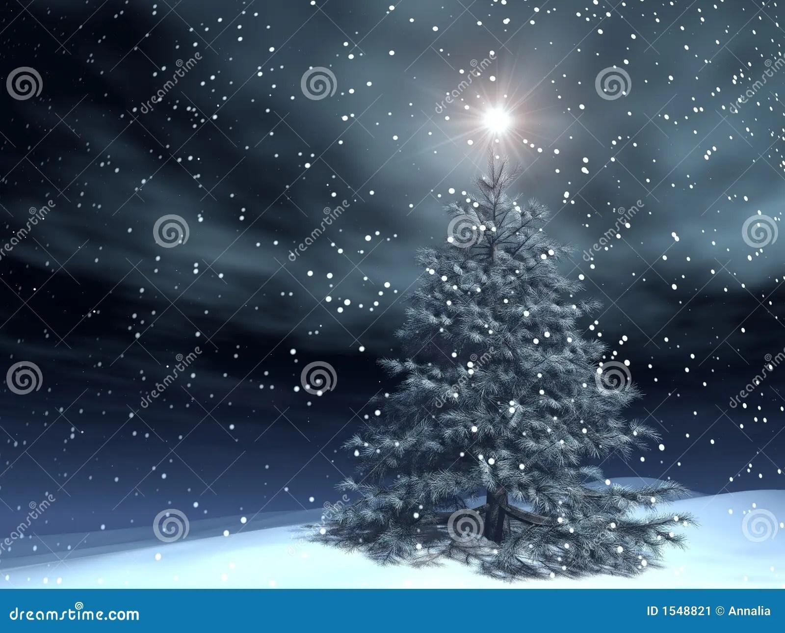 Magie Weihnachten Stock Abbildung Illustration Von Winter