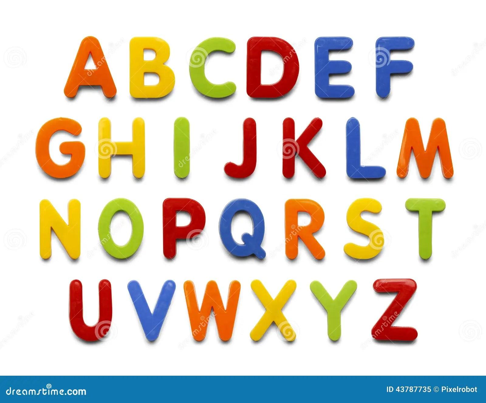 Magnet Alphabet Stock Image Image Of Objects Back