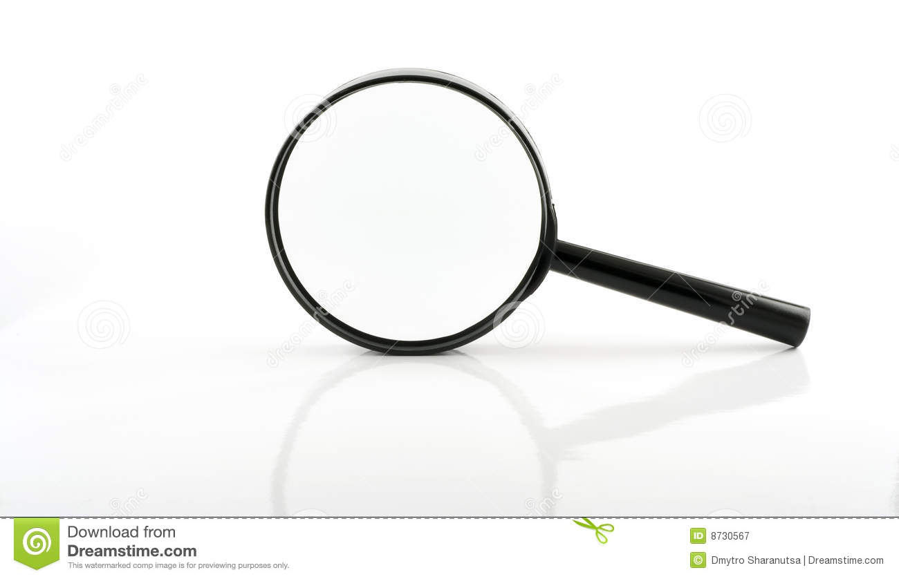 Magnifying Lens Royalty Free Stock Photography