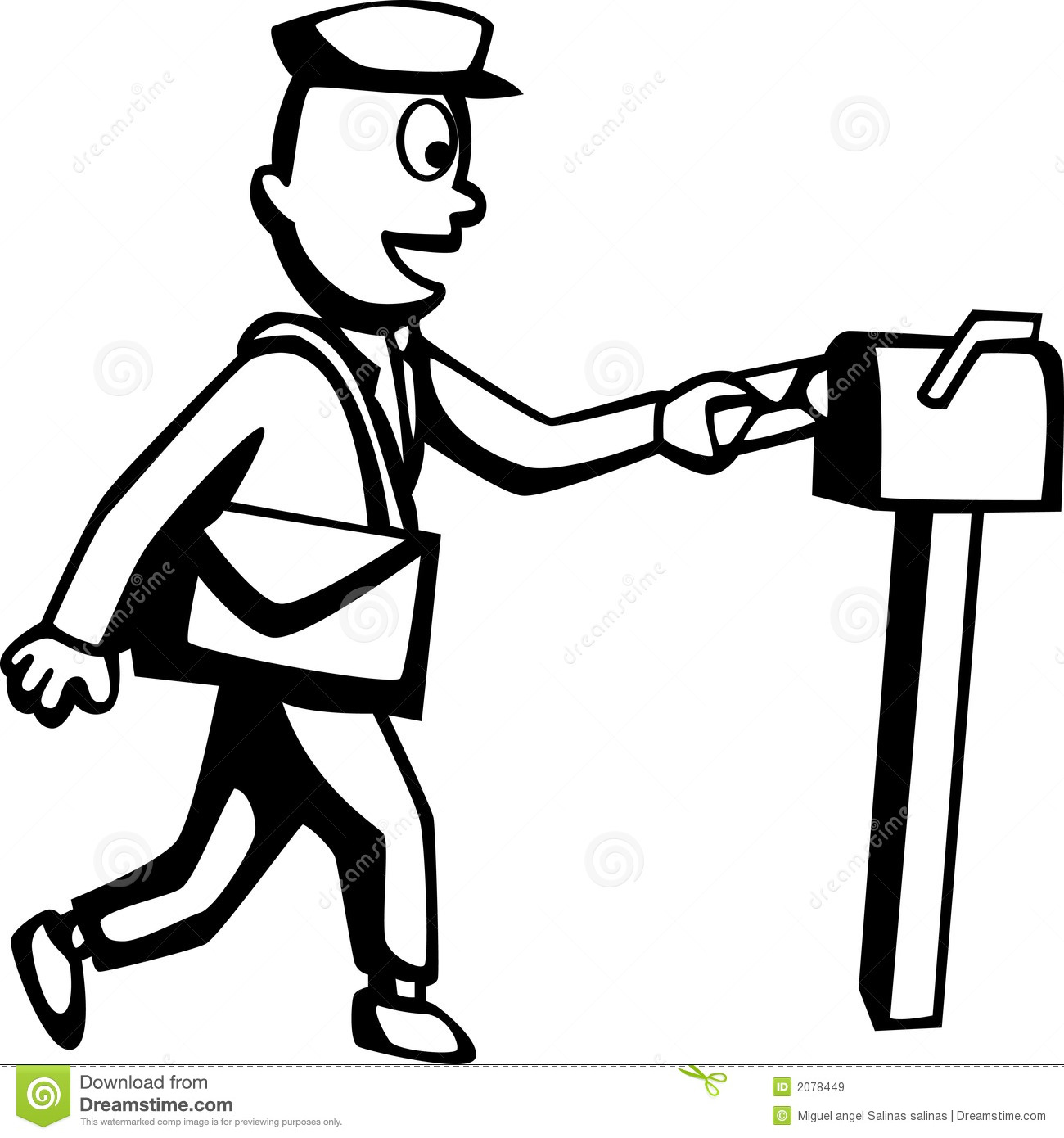Mailman Royalty Free Stock Images