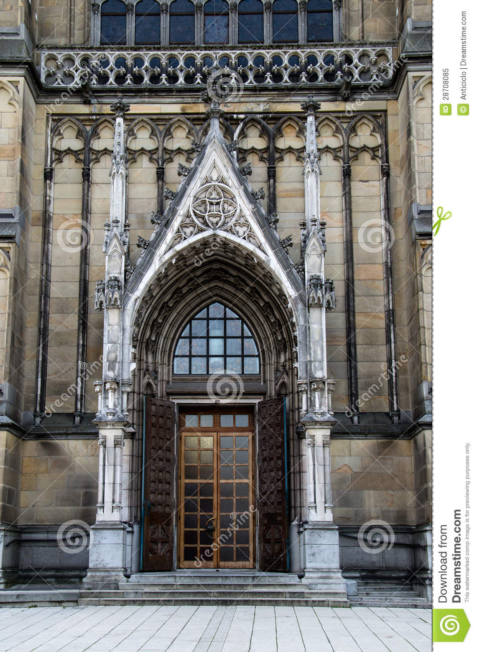 Prague Flowered Gothic Style Doors Gorgeous Doors