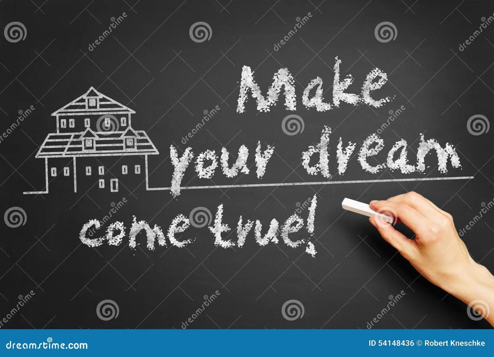Make Your Dream Come True Stock Photo Image 54148436