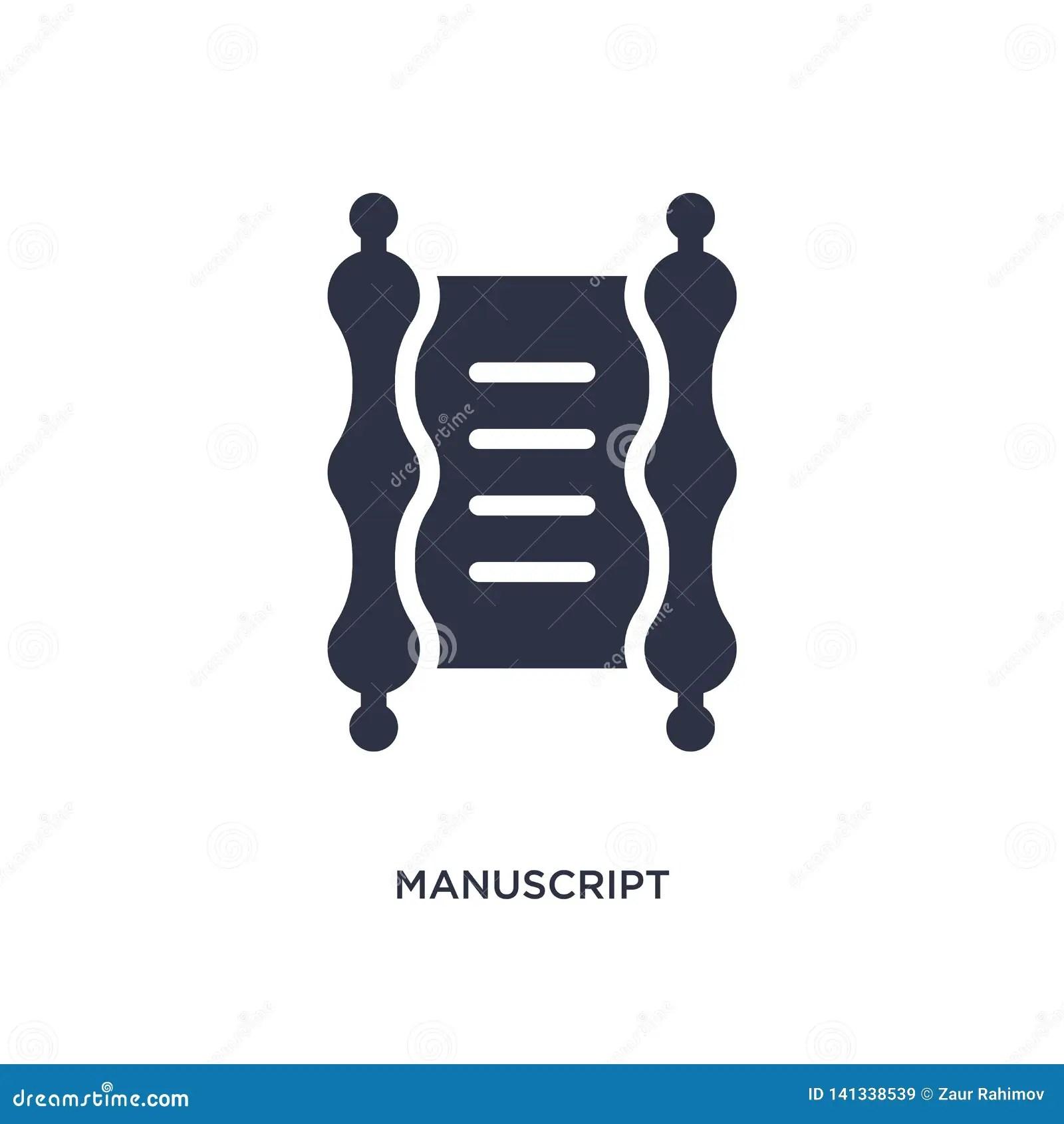 M Cript Icon On White Background Simple Element
