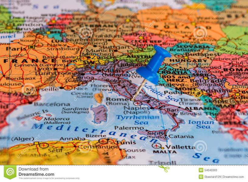 Map of Italy stock image  Image of point  navigator  middle   54040393 Download Map of Italy stock image  Image of point  navigator  middle    54040393