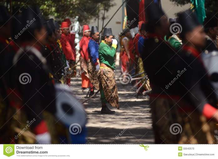 Mataram Culture Editorial Image Image Of Sultanate Indonesia 55542570