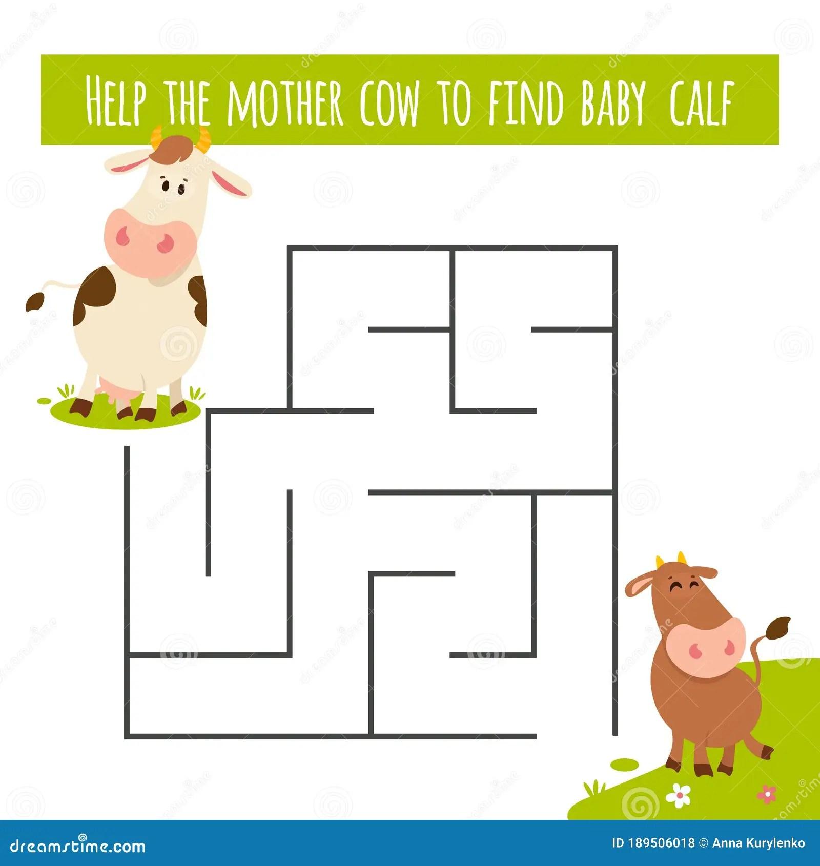 Matching Children Educational Game Activity For Preschool