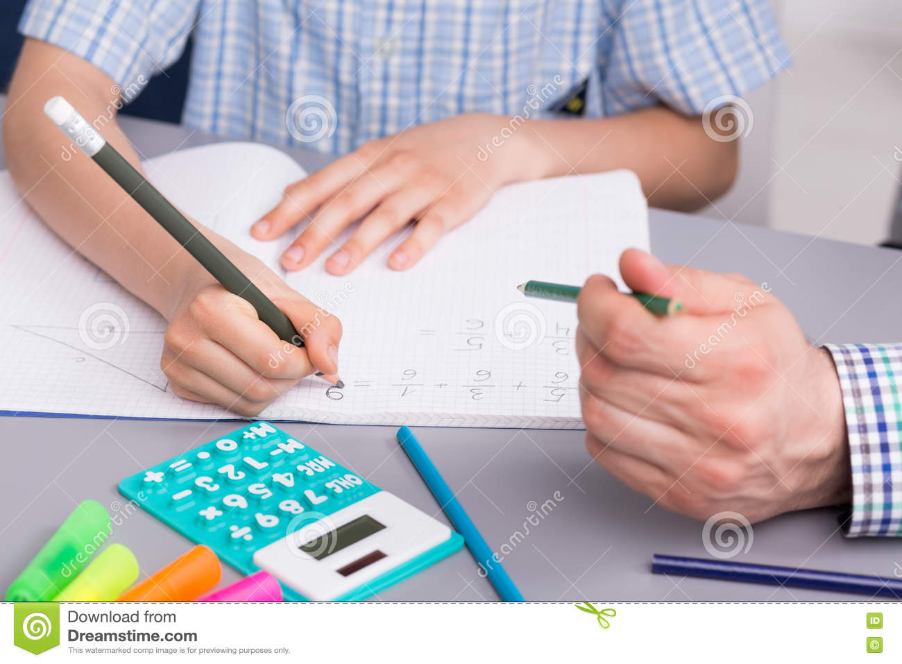 Math Doesn T Have To Be Difficult Stock Photo