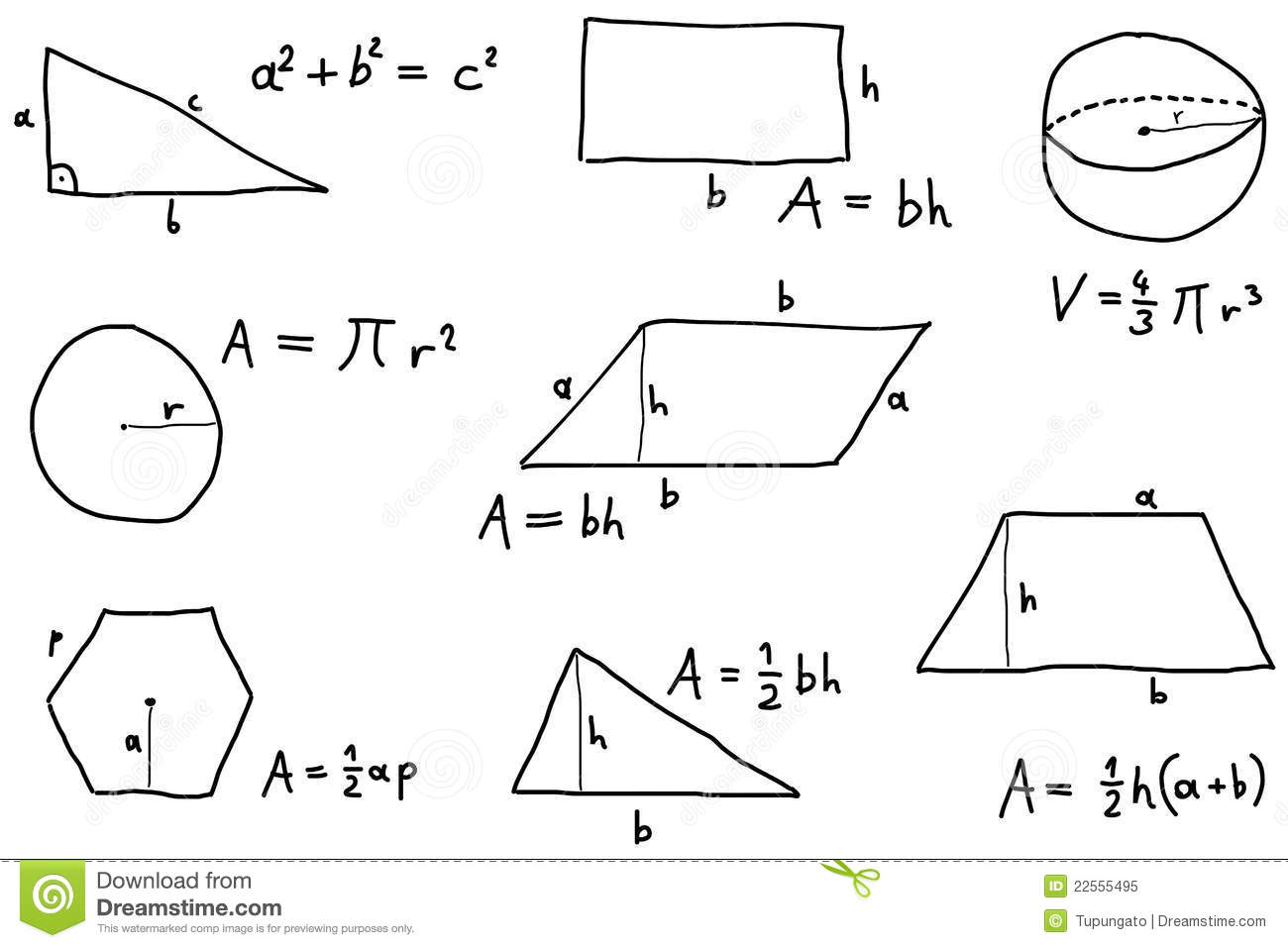 Math Lesson Royalty Free Stock Photo