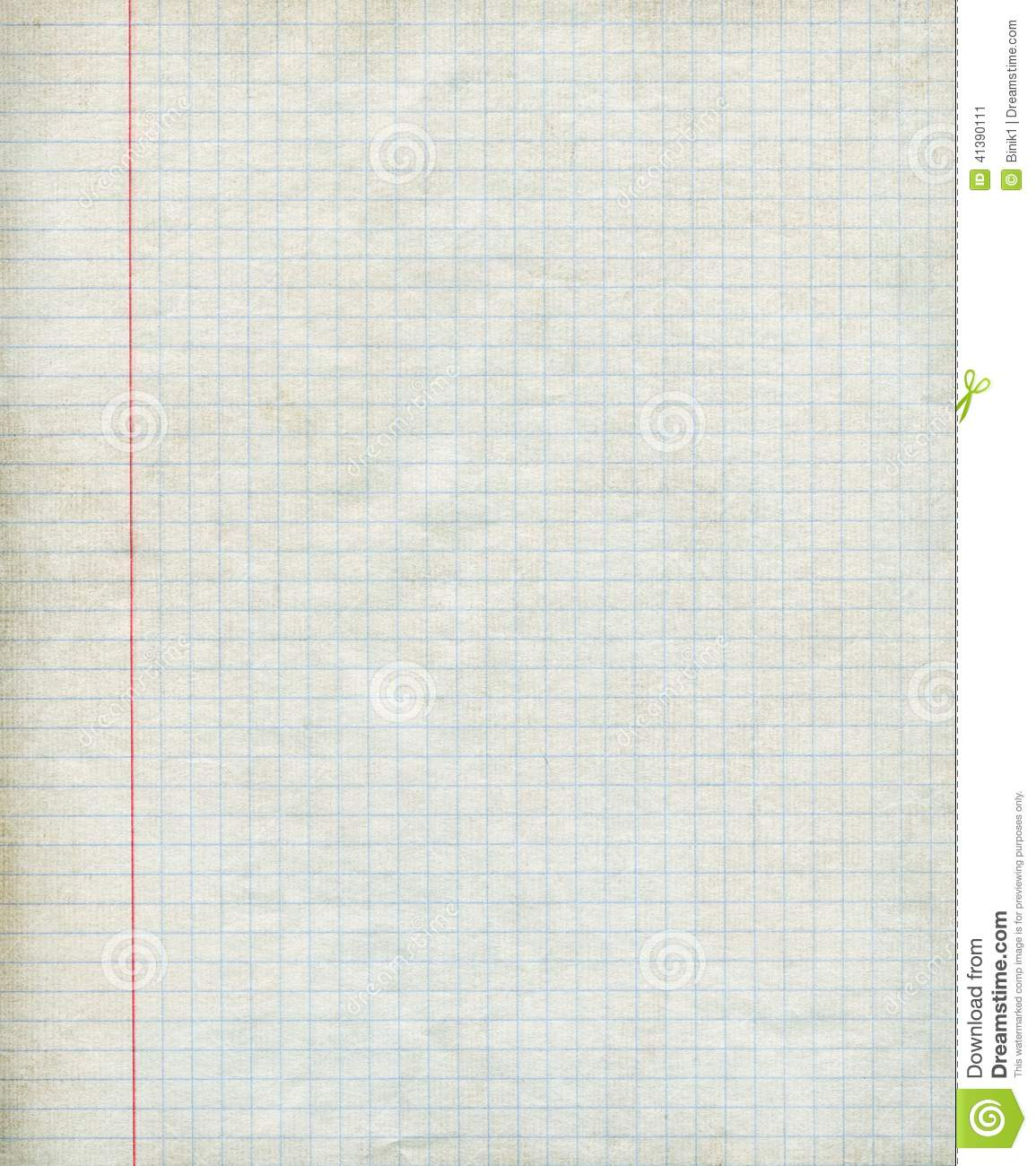Math Paper Background Stock Illustration