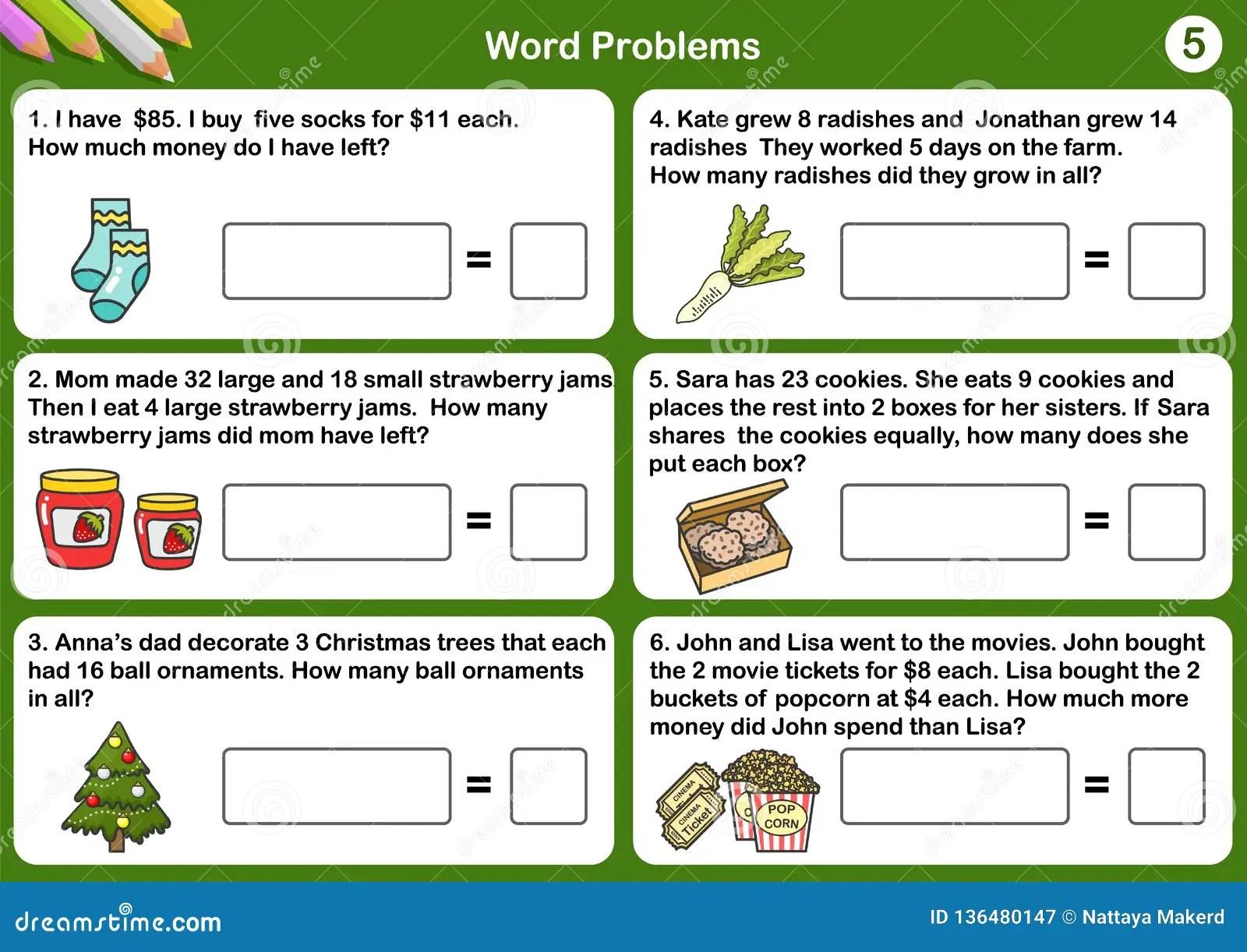 Math Problem Stock Illustrations 1 464 Math Problem
