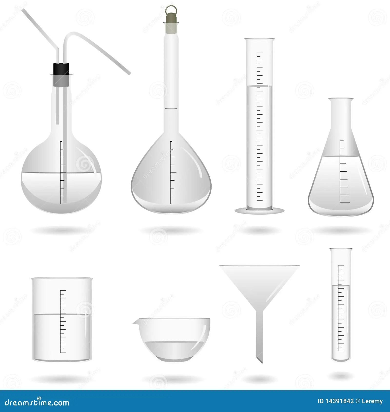 Materiel De Laboratoire Chimique De La Science