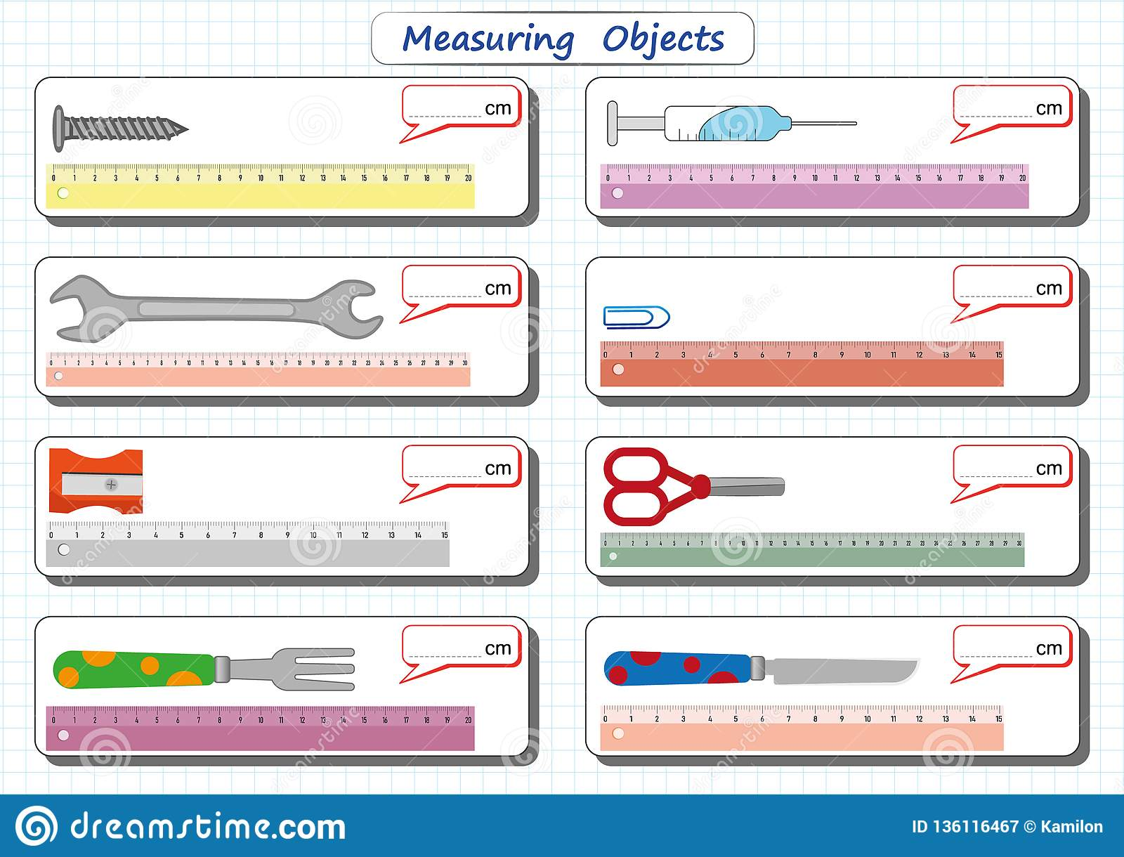 Measuring Solids Worksheet