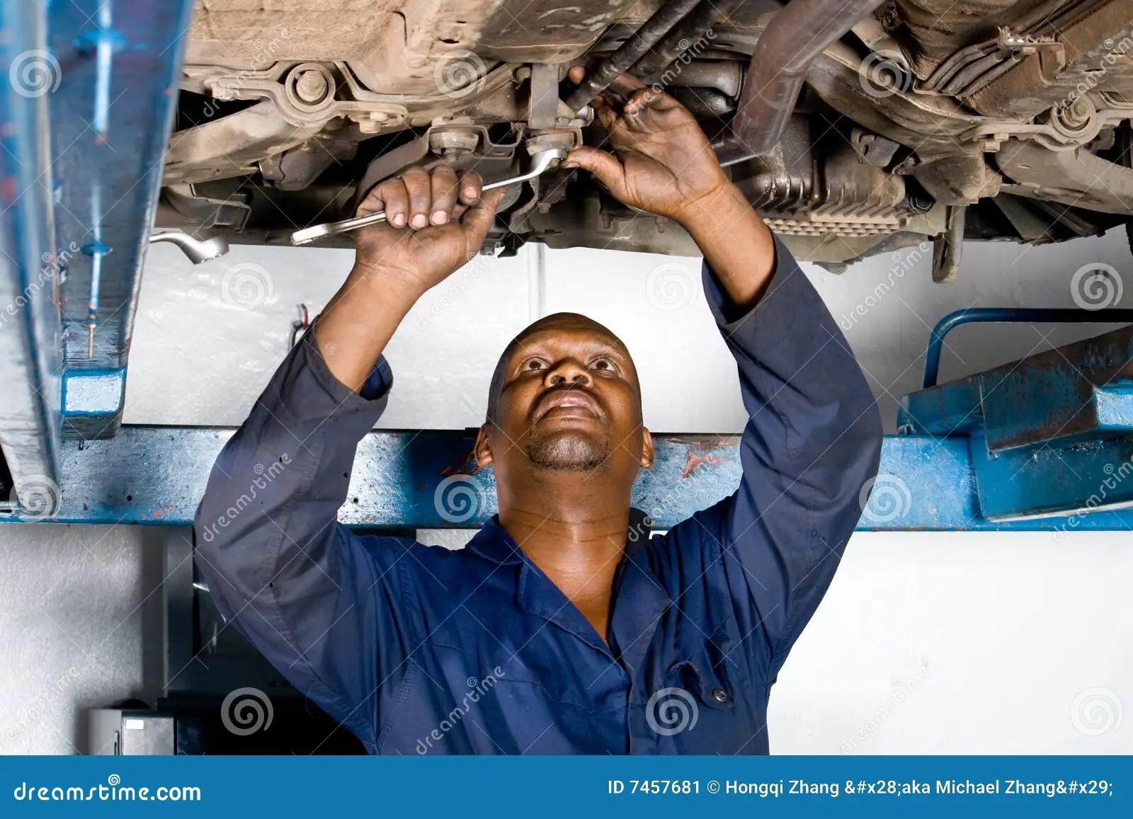 Mechanic At Work Stock Image Image 7457681