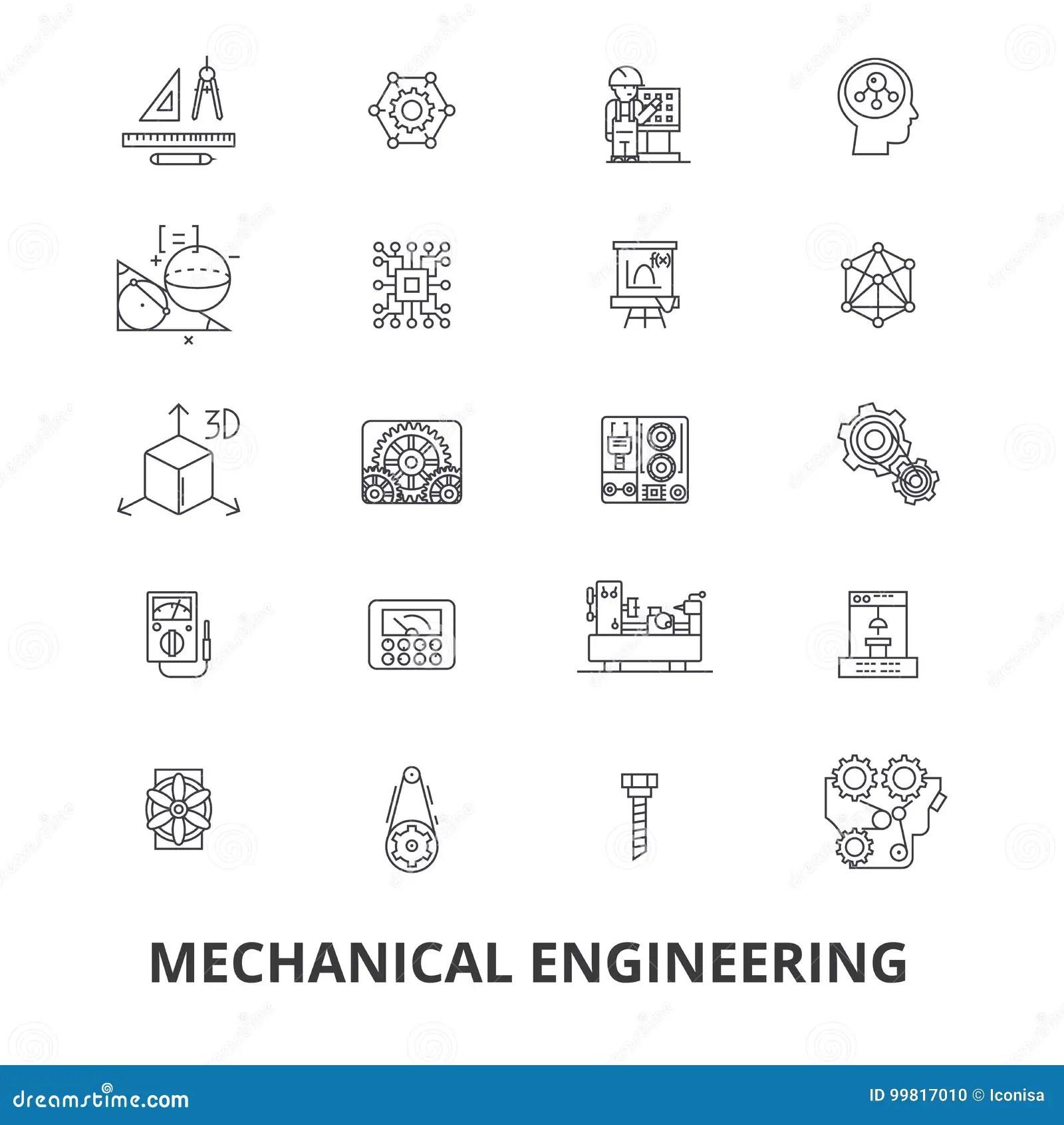 Mechanical Engineering Mechanic Electrical Gears