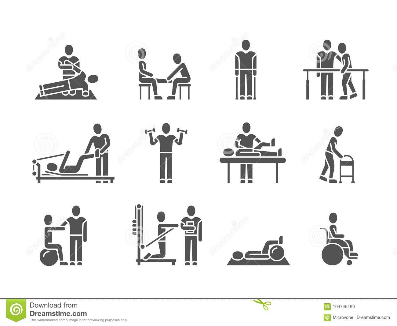Medical Physical Therapy And People Rehabilitation
