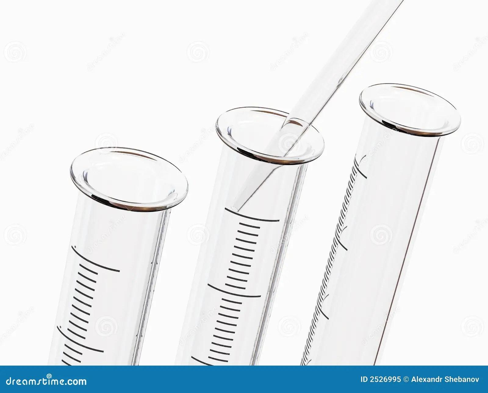 Medical Test Tubes Royalty Free Stock Photo