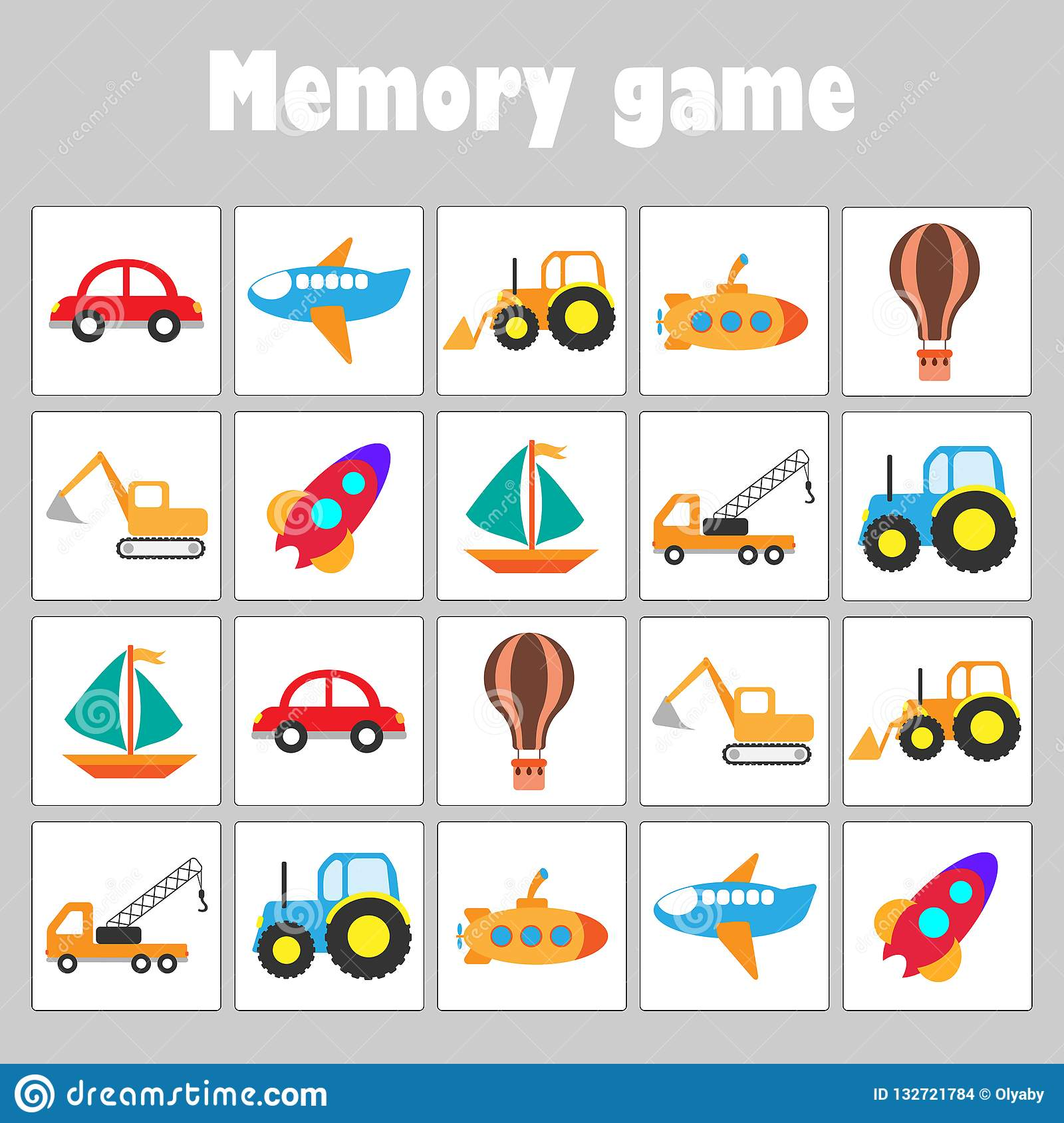 Memory Game With Pictures
