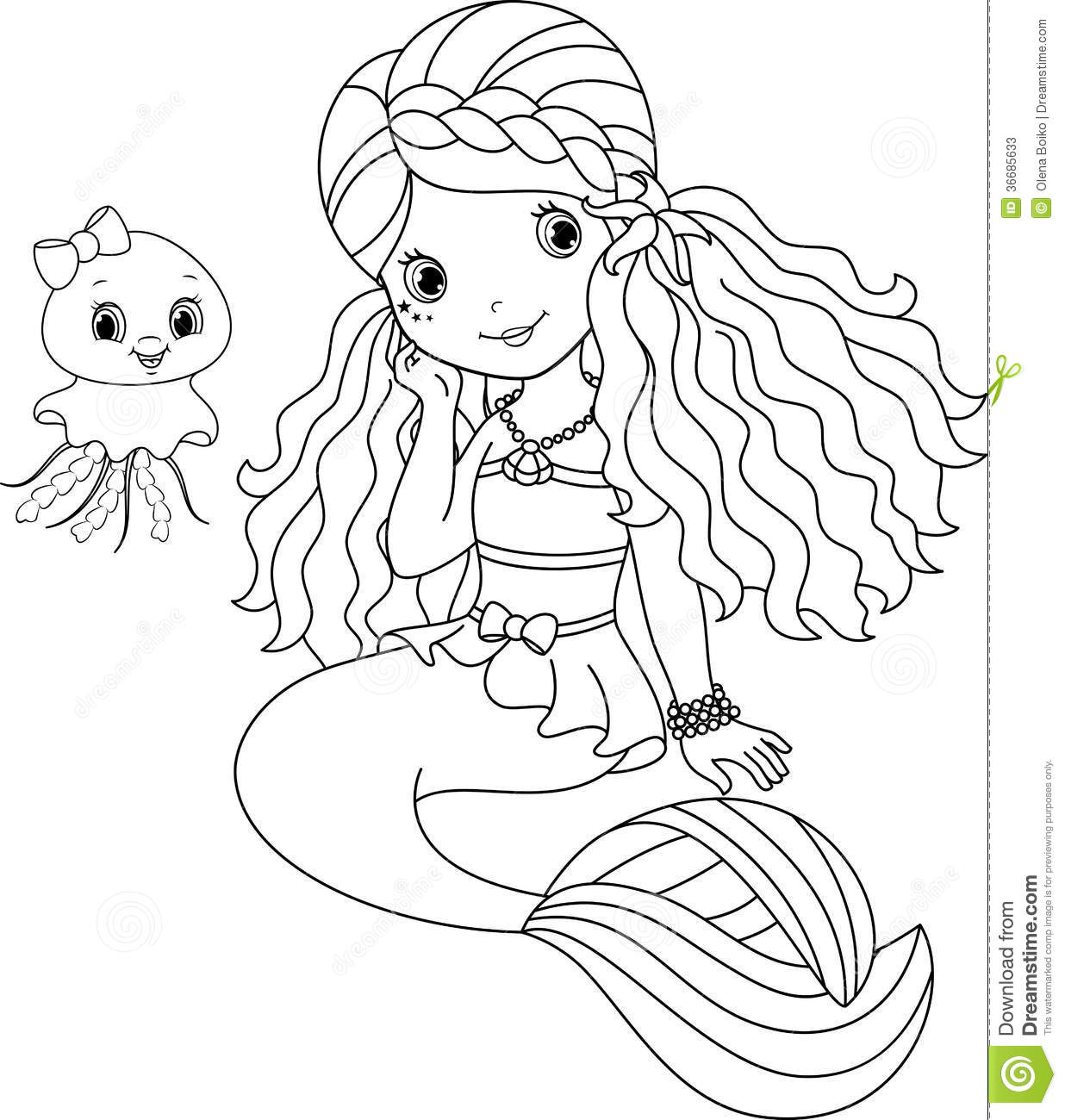 baby little mermaid coloring pages cooloring com