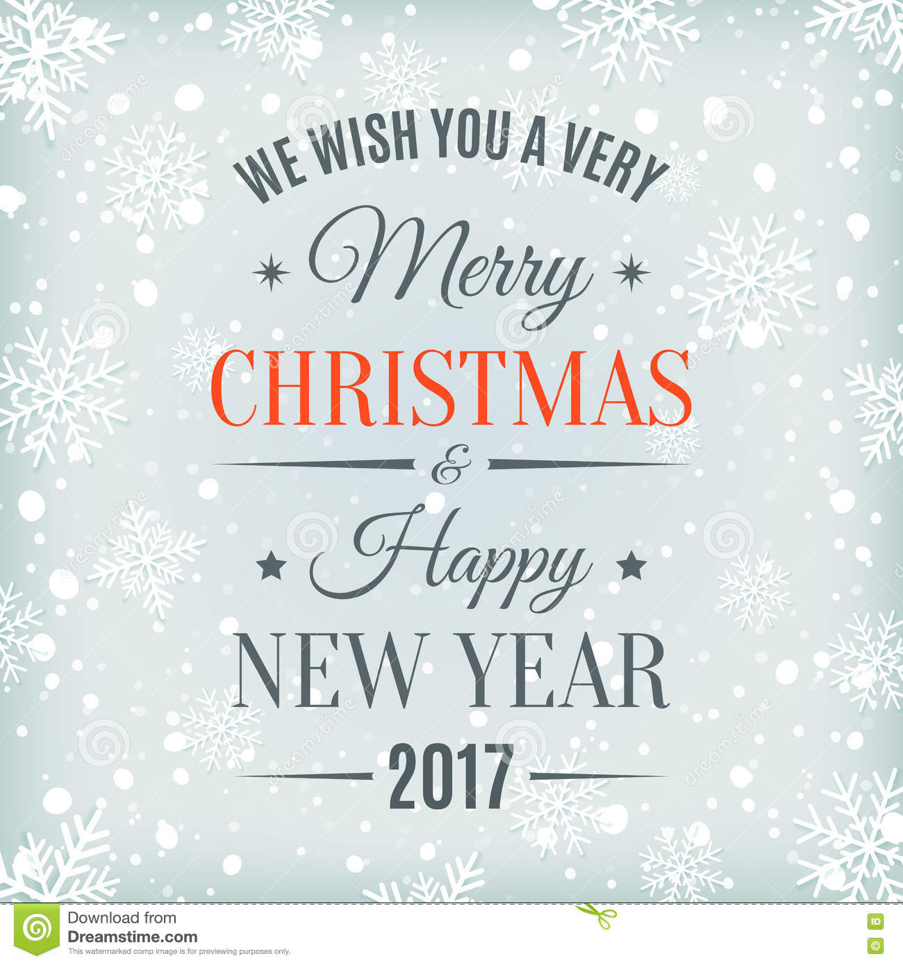 Greetings Happy 2017 And Merry Year Christmas New