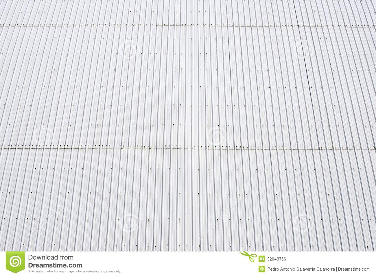 Metal Roof Royalty Free Stock Image