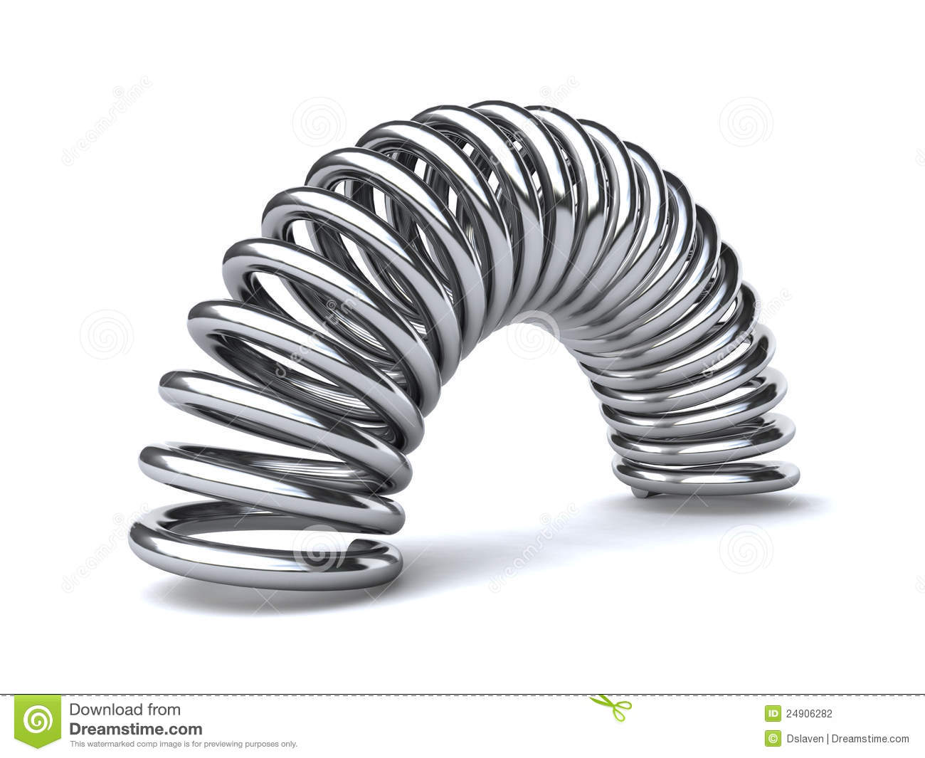 Metal Spring Stock Illustration Illustration Of Spring