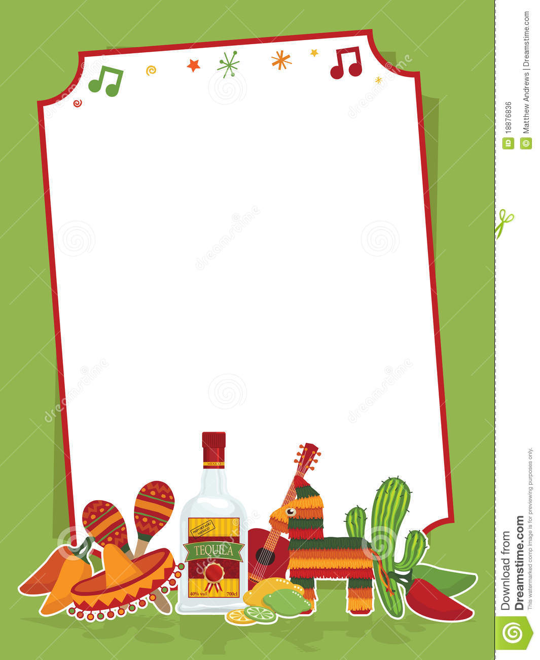 mexican party sign royalty free stock image image 18876836