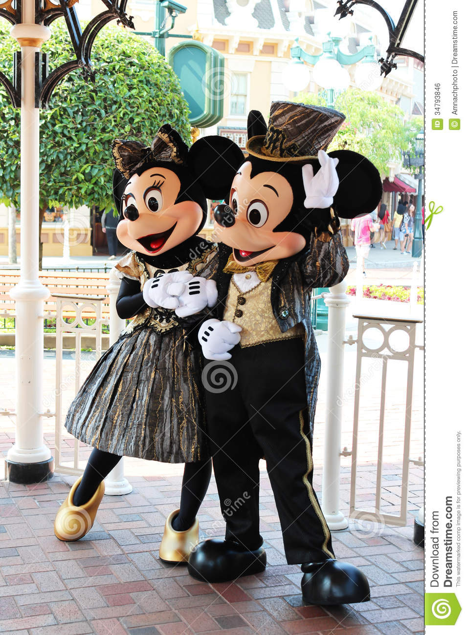 Mickey Mouse And Minnie Disneyland