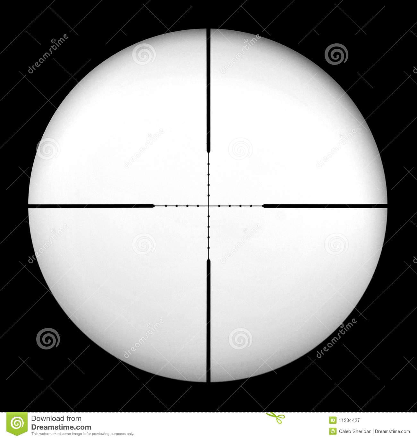 Mil Dot Gun Scope Stock Image Image Of Firearm Hairs