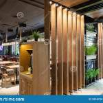 Minsk Belarus May 29 2019 Close Shot Of A Main Entrance And Self Service Zone Of Restaurant Editorial Stock Image Image Of Business Abstract 150140794