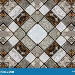 Mirror Effect On Small Marble Tiles Stock Illustration Illustration Of Abstract Brown 135767649