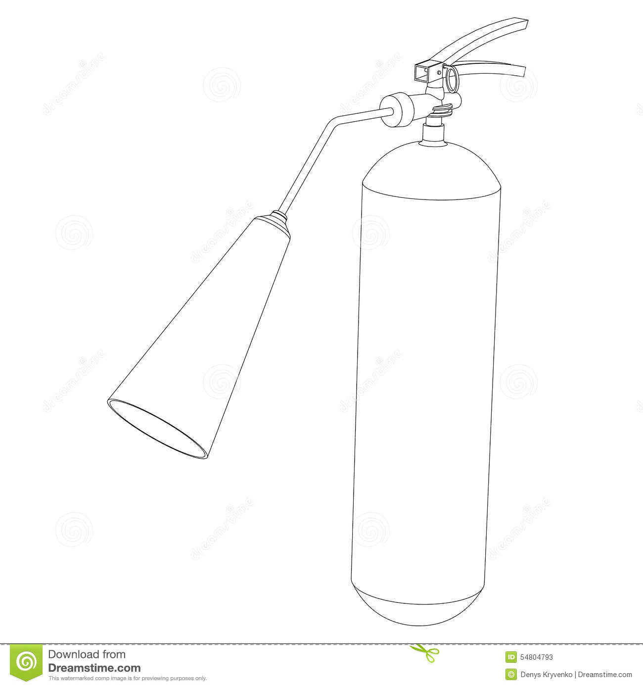 Stock Photos Mobile Fire Extinguisher Close Up Circuit