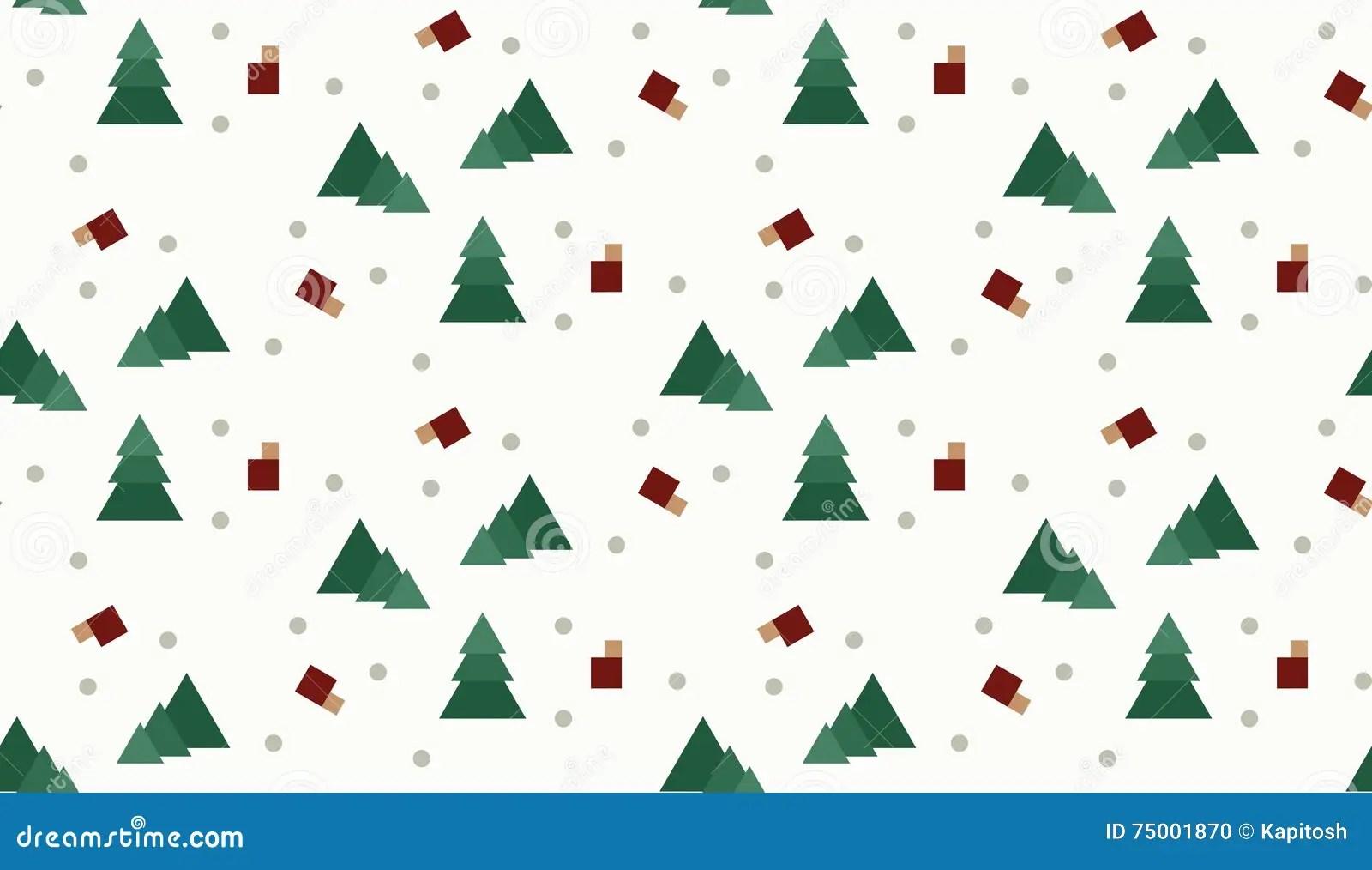 Modèle Sans Couture De Noël Denveloppe Pour Le Cadeau