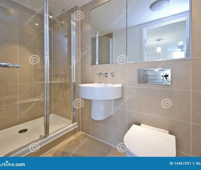 Modern En Suite Bathroom With Shower