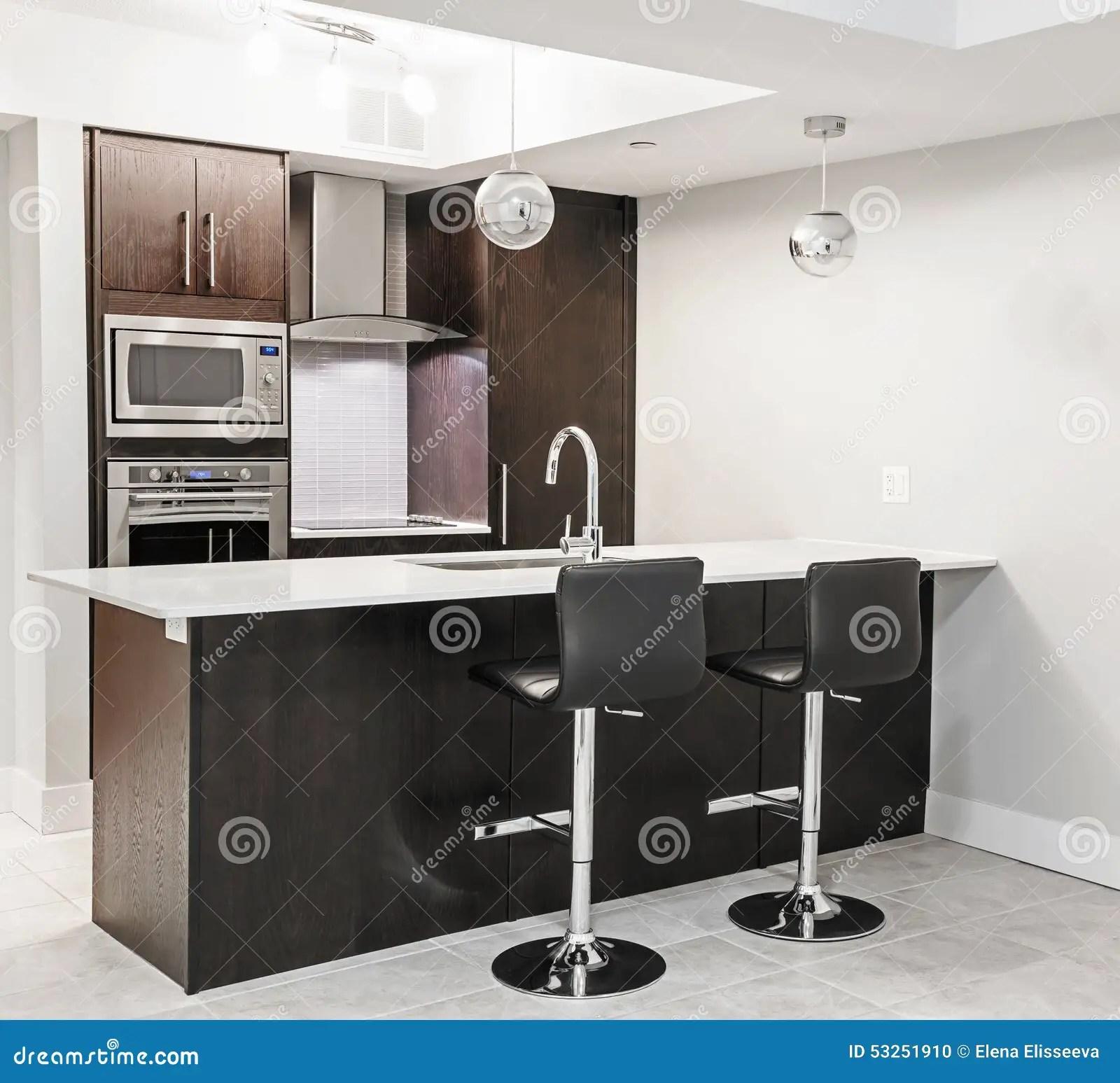 Modern Kitchen Interior Stock Photo Image Of Appliances