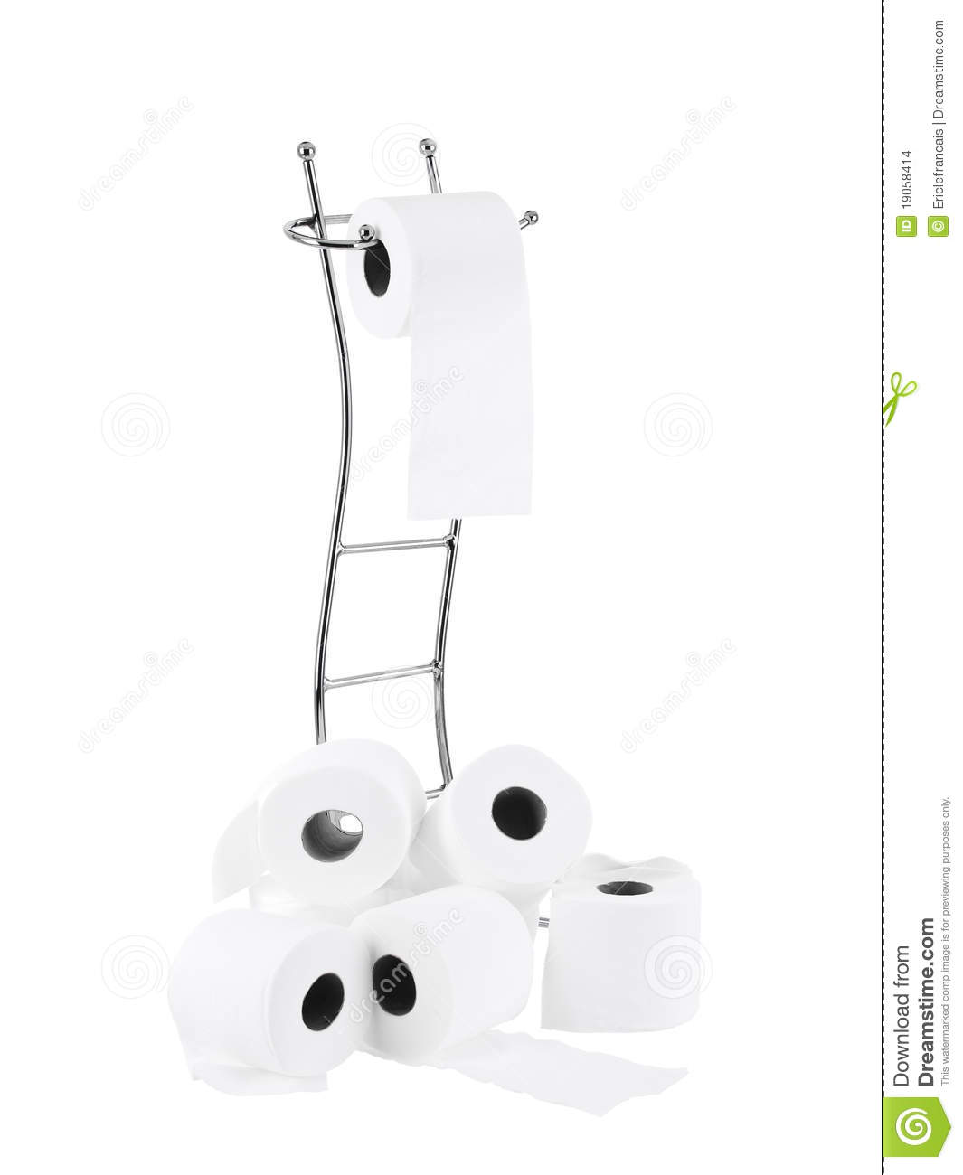 Modern Toilet Paper Front Stand Stock Images