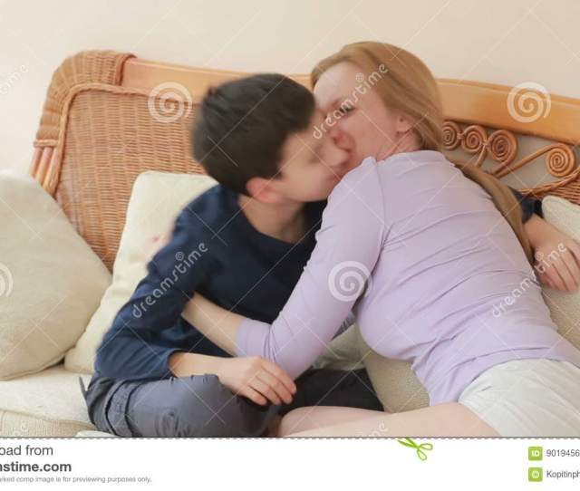 Mom And Son Chatting Heart To Heart On The Wicker Sofa Stock Video Video Of Nurture Home 90194563