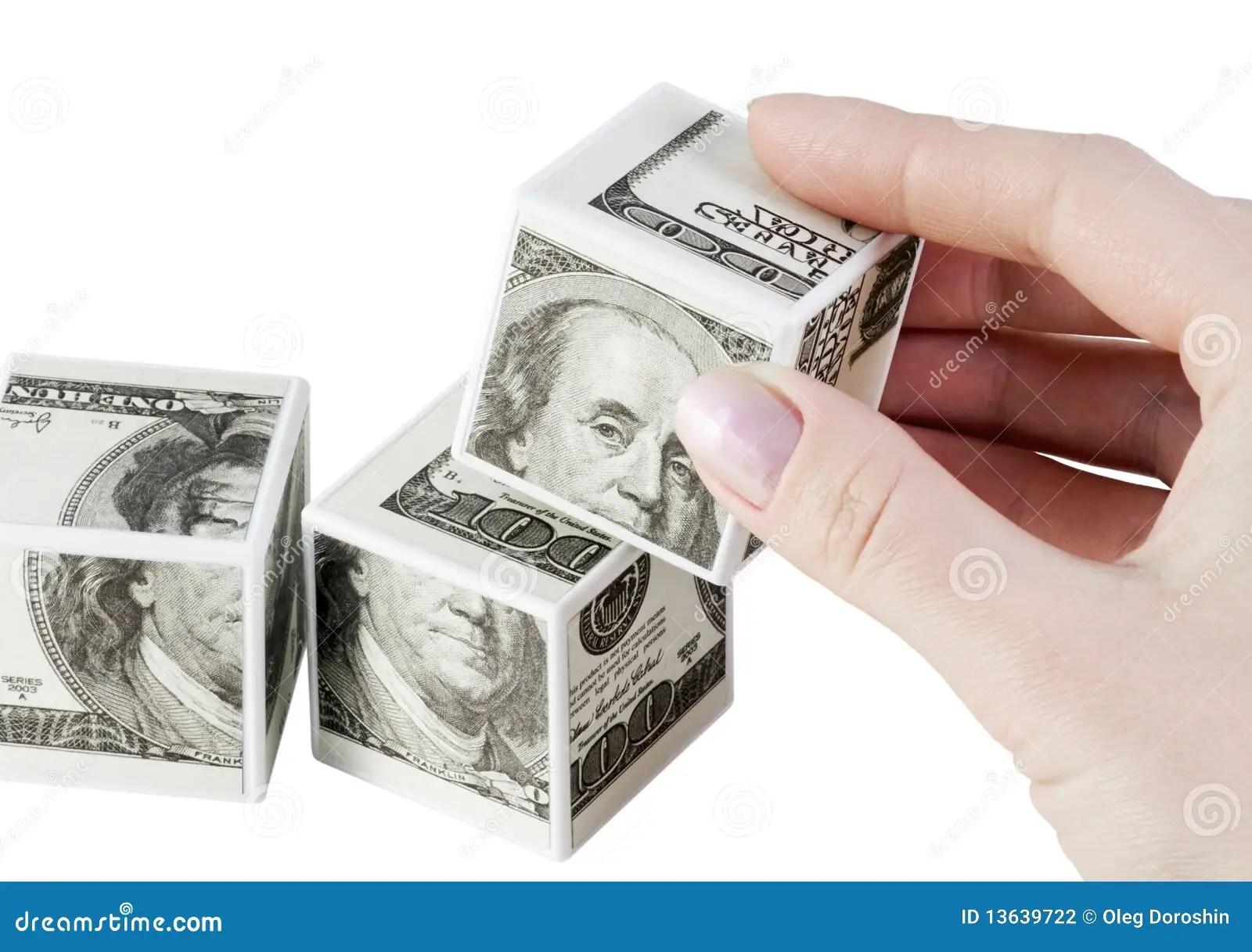 Money Toys Stock Photography