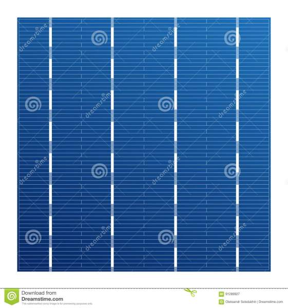 Monocrystalline Solar Cell For Solar Modules  Vector Photovoltaic     Download comp