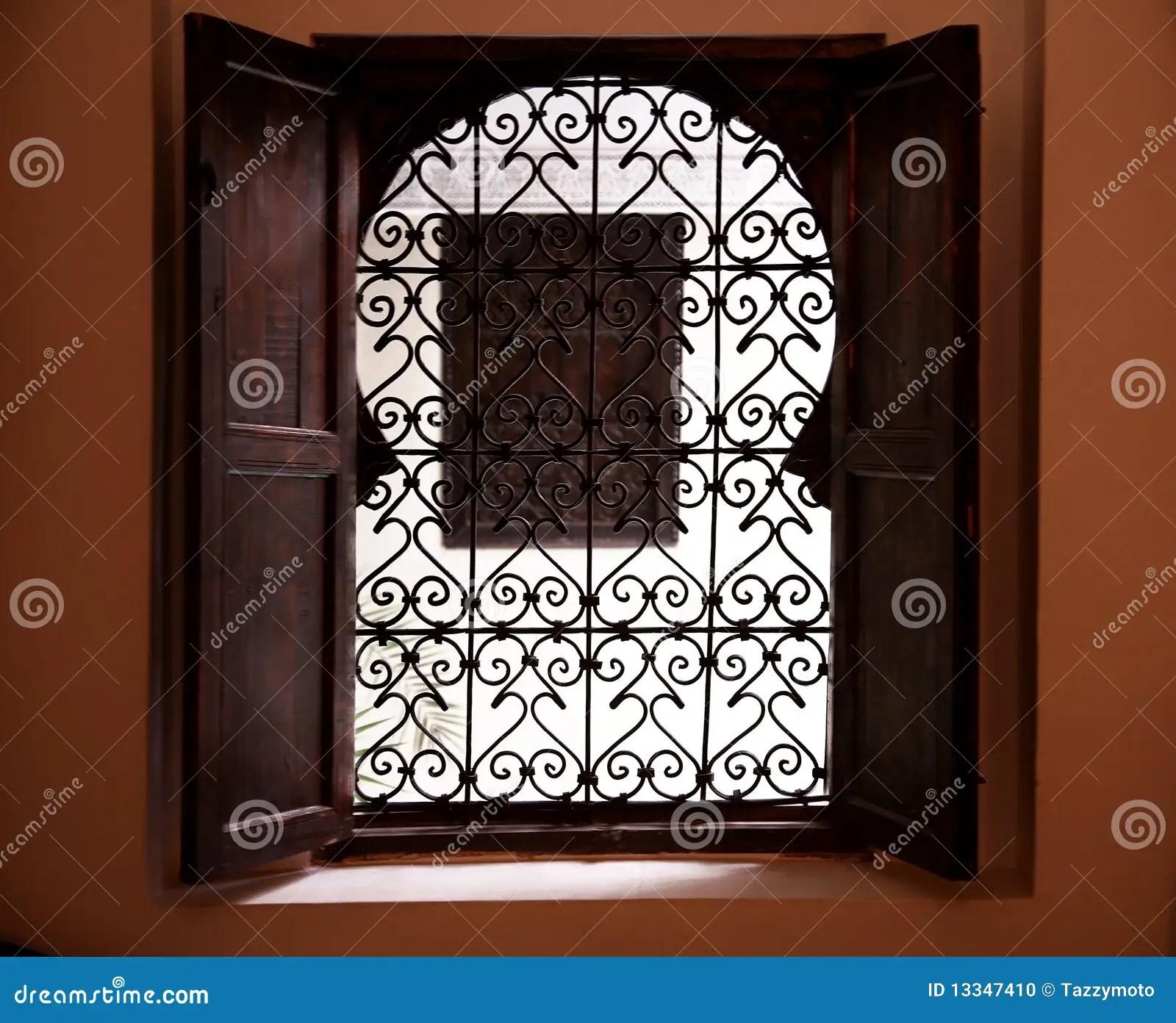 Moroccan Window Stock Photo Image Of Design Ancient