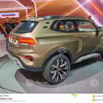 Moscow Aug 31 2018 View On Lada Stand With New Concept Off Road Car Chevrolet Niva 4x4 Vision And People Around On Automotive E Editorial Stock Image Image Of Last Modern 125220269