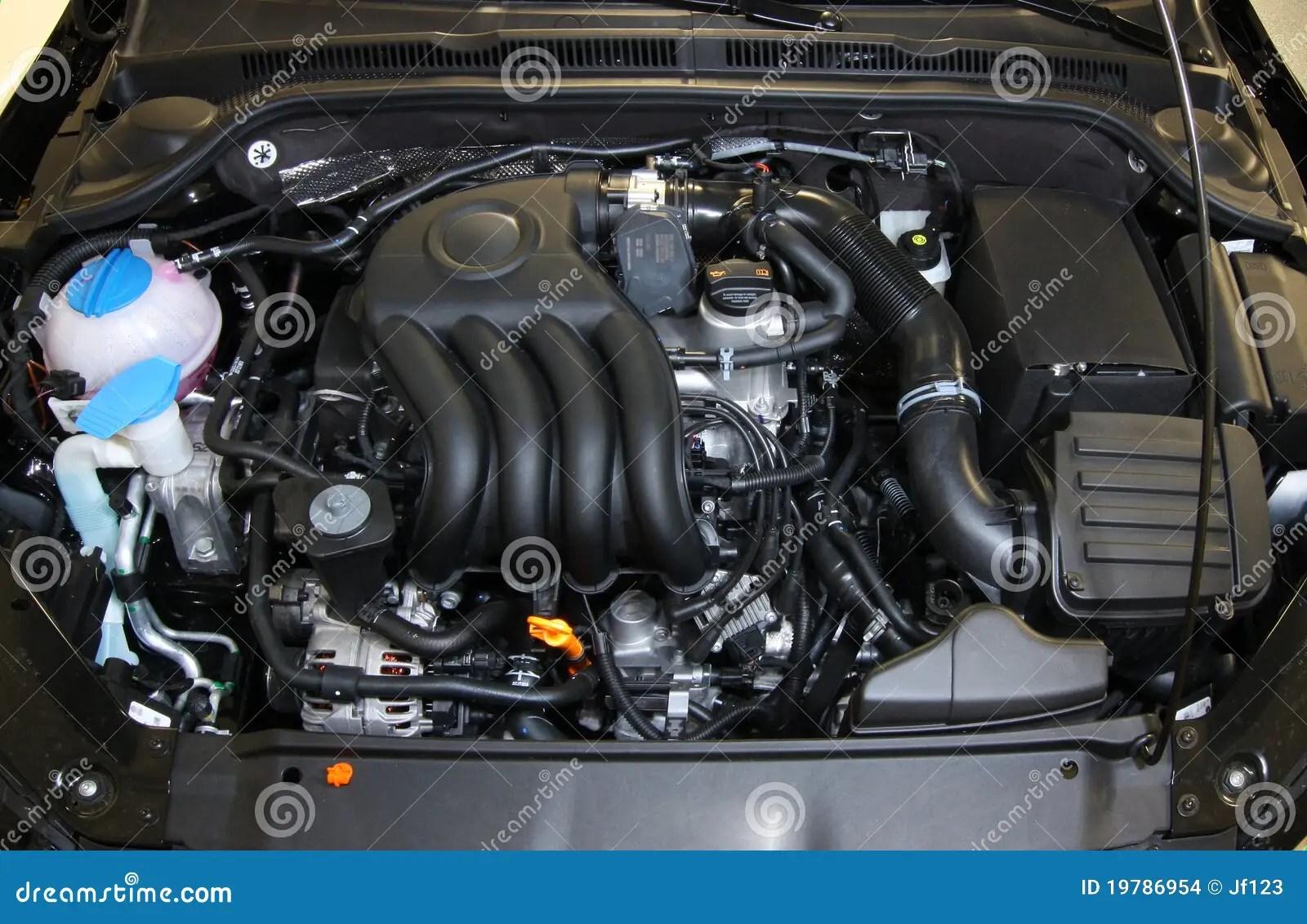 Motore Di Automobile Fotografia Stock Immagine Di