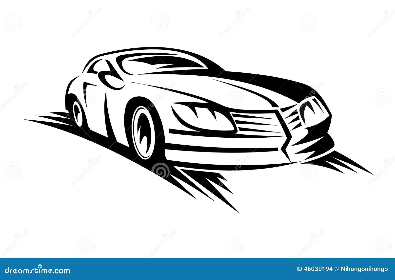 Car Driving Away