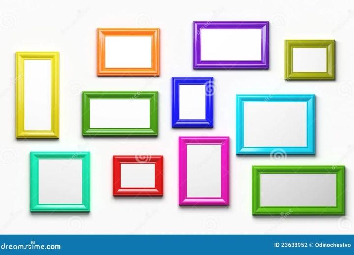 cheap multi coloured photo frames frameswalls org