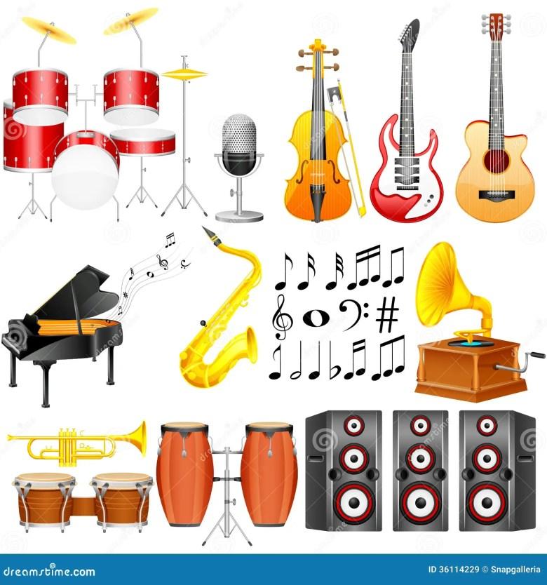 music instrument stock vector. illustration of creative - 36114229