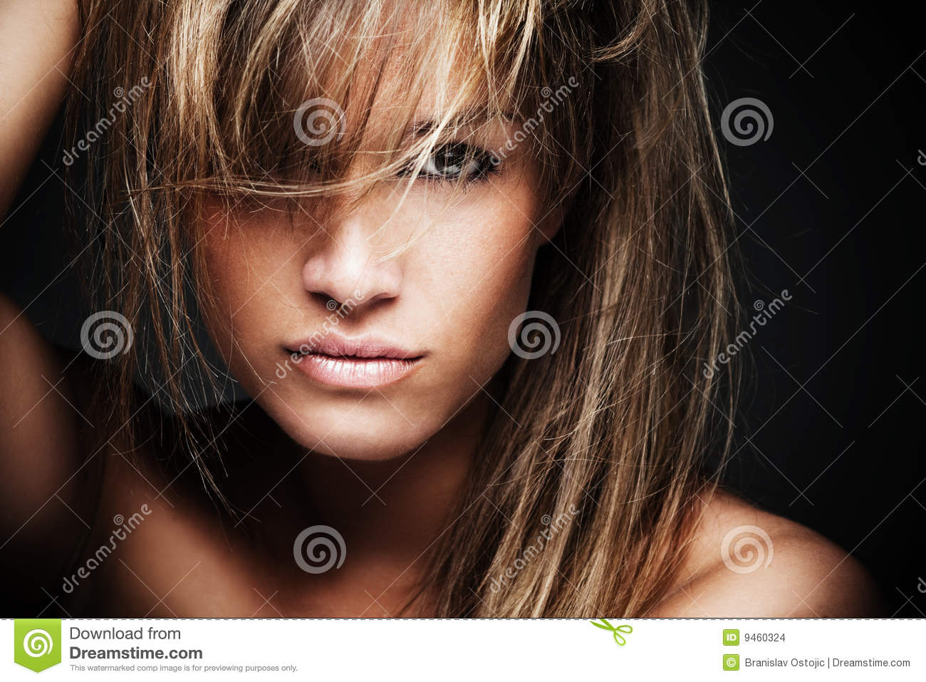 Mystic Wild Woman Stock Images Image 9460324