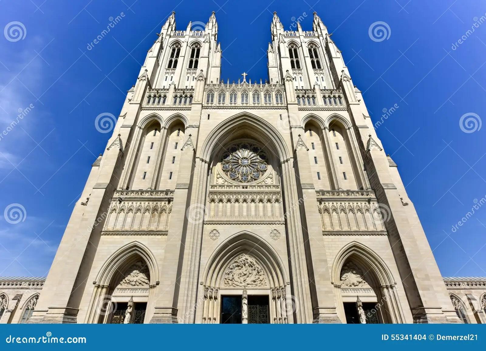 National Cathedral Washington Dc United States Stock