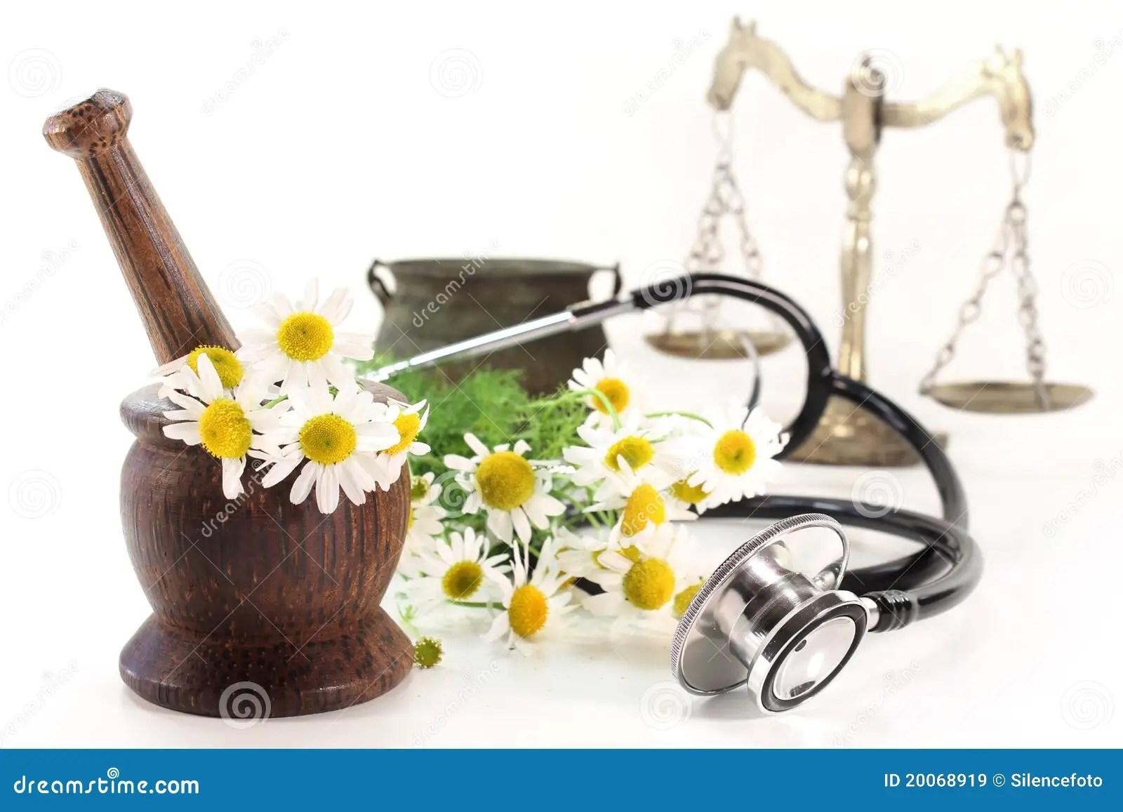 Natural Medicine Stock Image Image Of Plants Homeopathy